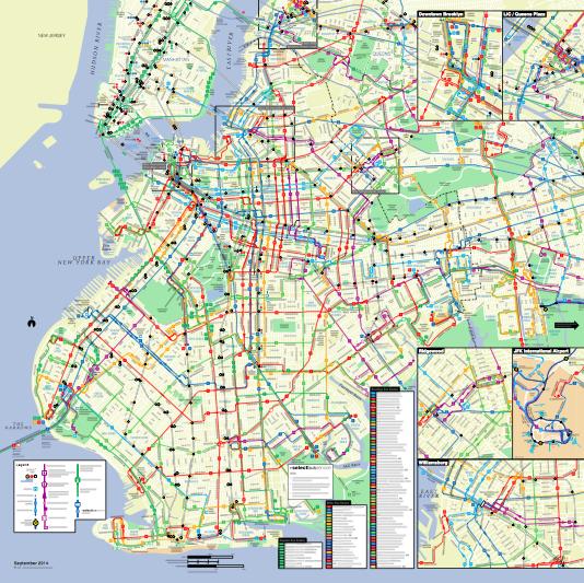 Bus riding the bestkept secret of NYC transit Visualizing NYC