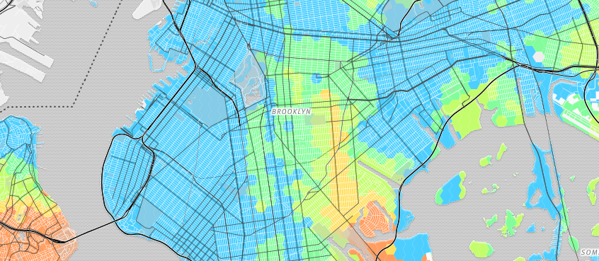 Bus Riding The Bestkept Secret Of NYC Transit Visualizing NYC - Brooklyn bus map