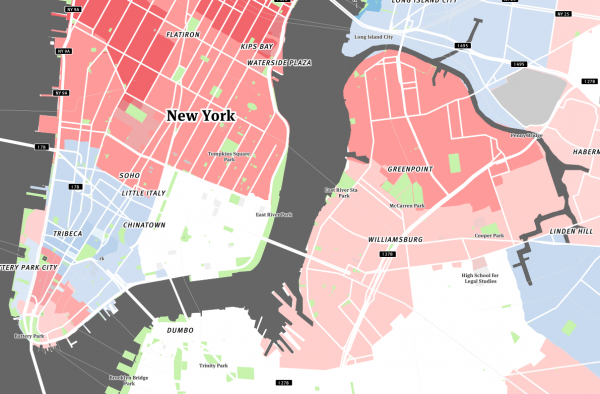 Singles in Williamsburg, Greenpoint, and Lower Manhattan, 20-29